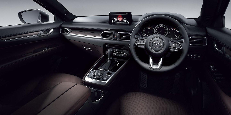 New Mazda CX-8 dengan Sejumlah Pembaruan Interior