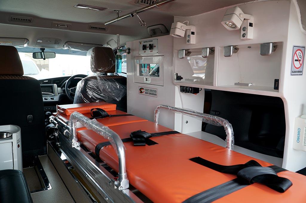 Ambulans Innova untuk Pasien Covid-19, Ini Fasilitasnya