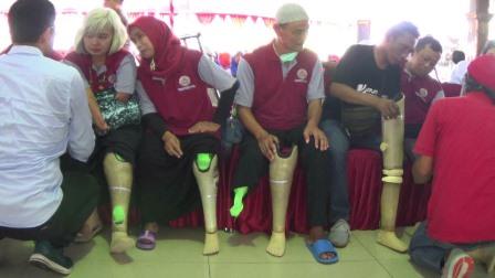 Kick Andy Foundation Tebar Senyuman Kepada Difabel di Blitar