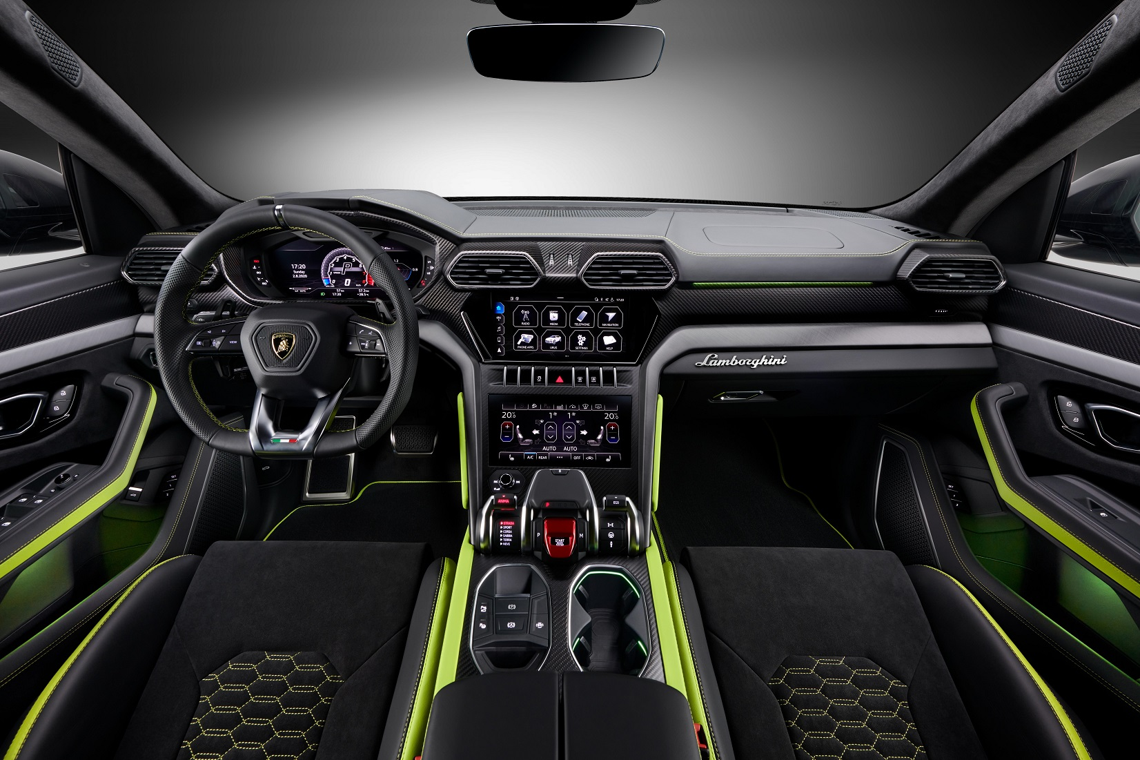 Kelir Khusus Lamborghini Urus Graphite Capsule