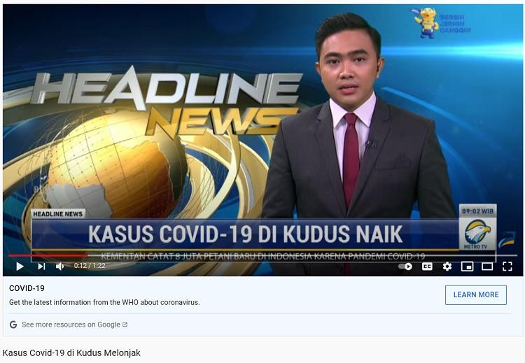 [Cek Fakta] Tidak Ada Media TV Siarkan Lonjakan Kasus Covid-19 di Jateng? Ini Faktanya