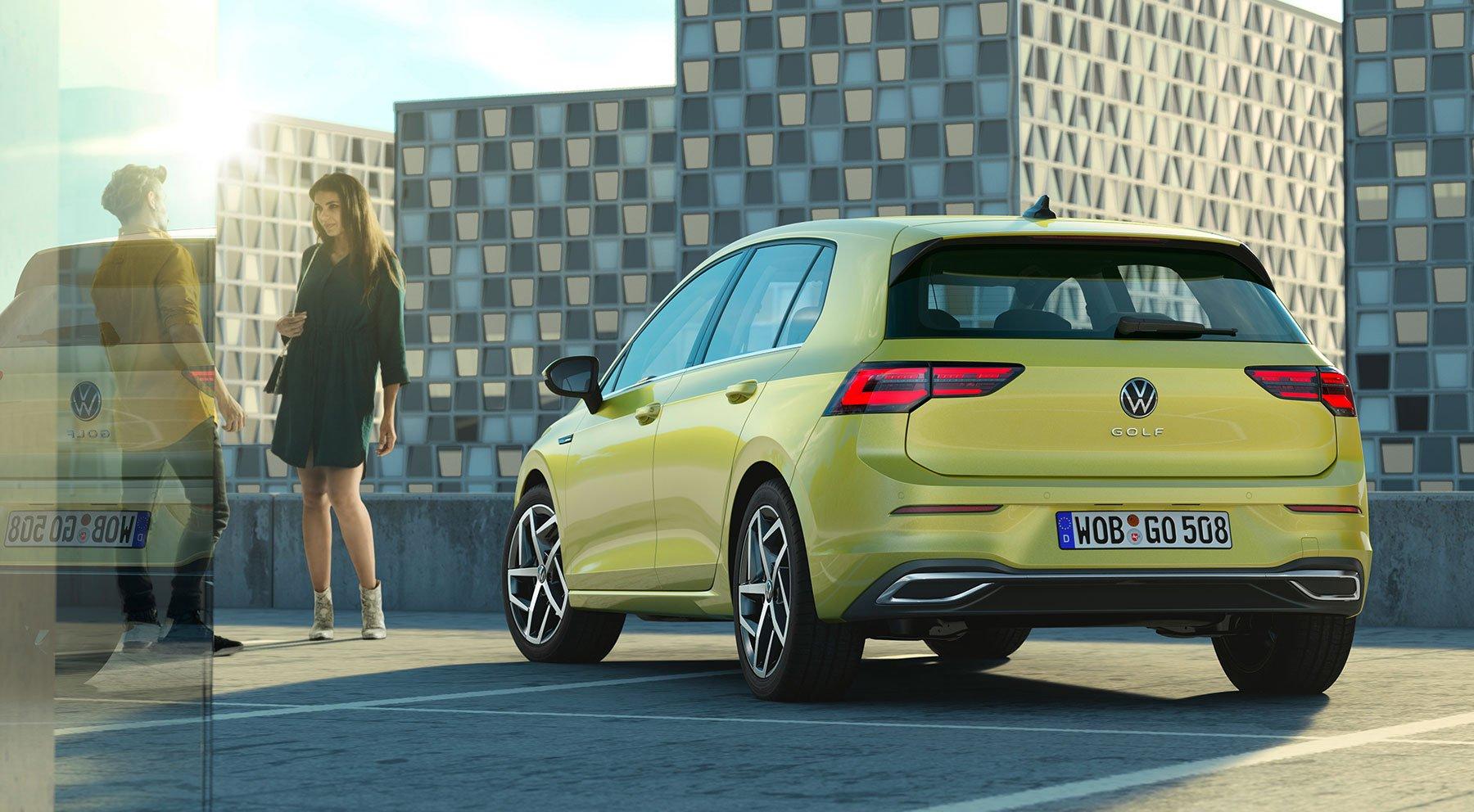 Volkswagen Buka Selubung Desain Golf Mk8