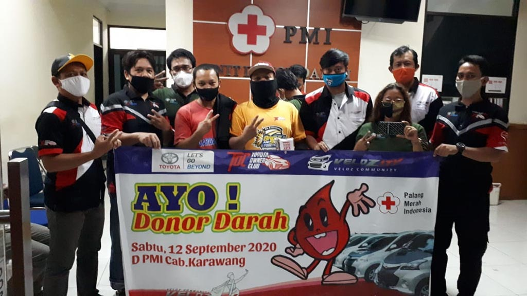 Aksi Donor Darah Massal Velozity Chapter V-Kapur