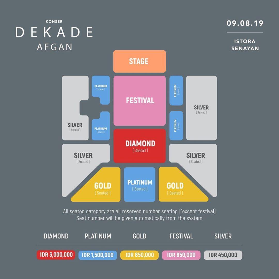 Afgan Gelar Konser Dekade di Jakarta Agustus 2019