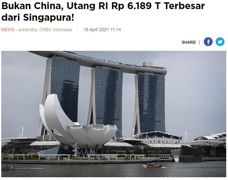 [Cek Fakta] Benarkah Tiongkok Pemberi Utang Terbesar ke Indonesia? Ini Faktanya