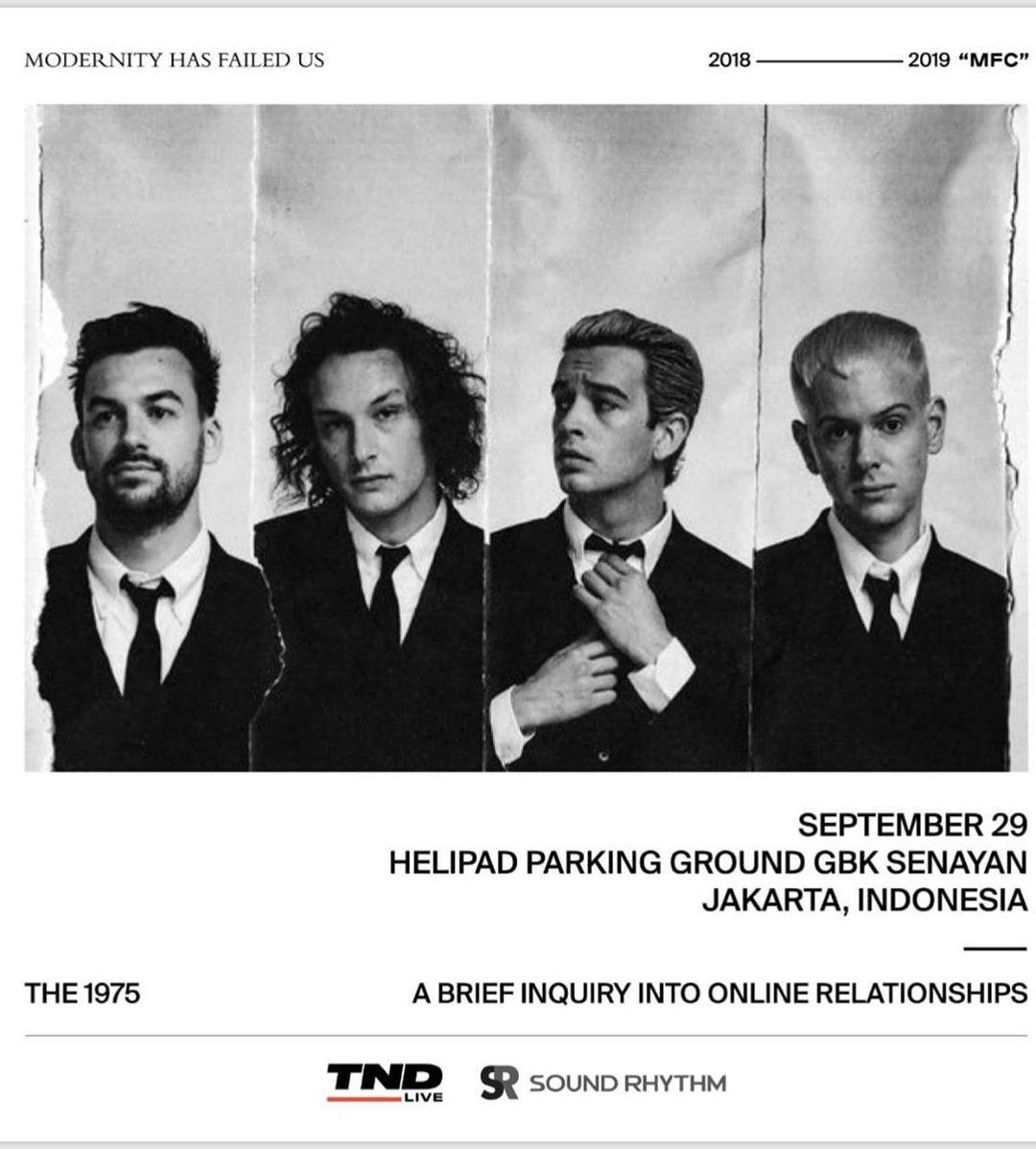 The 1975 Kembali Gelar Konser di Jakarta September 2019