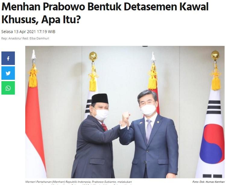 [Cek Fakta] Jokowi Tendang Prabowo dari Istana? Ini Faktanya