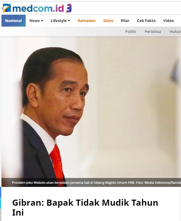 [Cek Fakta] Video Iring-Iringan Jokowi Pulang Kampung? Ini Faktanya