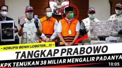 [Cek Fakta] KPK Tangkap Prabowo Subianto? Ini Faktanya