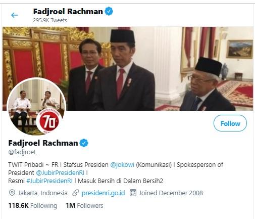 [Cek Fakta] Cuitan Fadjroel Rachman Mengumpat ke Rakyat Miskin? Ini Faktanya
