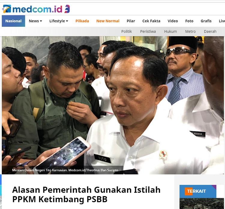 [Cek Fakta] Jawa dan Bali <i>Lockdown</i> Sampai 25 Januari? Ini Faktanya