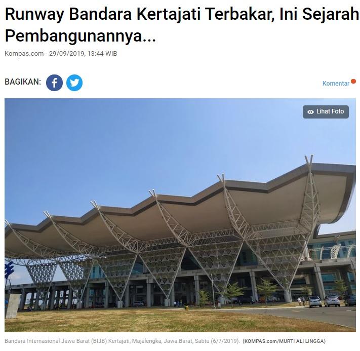 [Cek Fakta] Bandara Kertajati Jawa Barat Melayani Service Sepeda Motor? Ini Faktanya