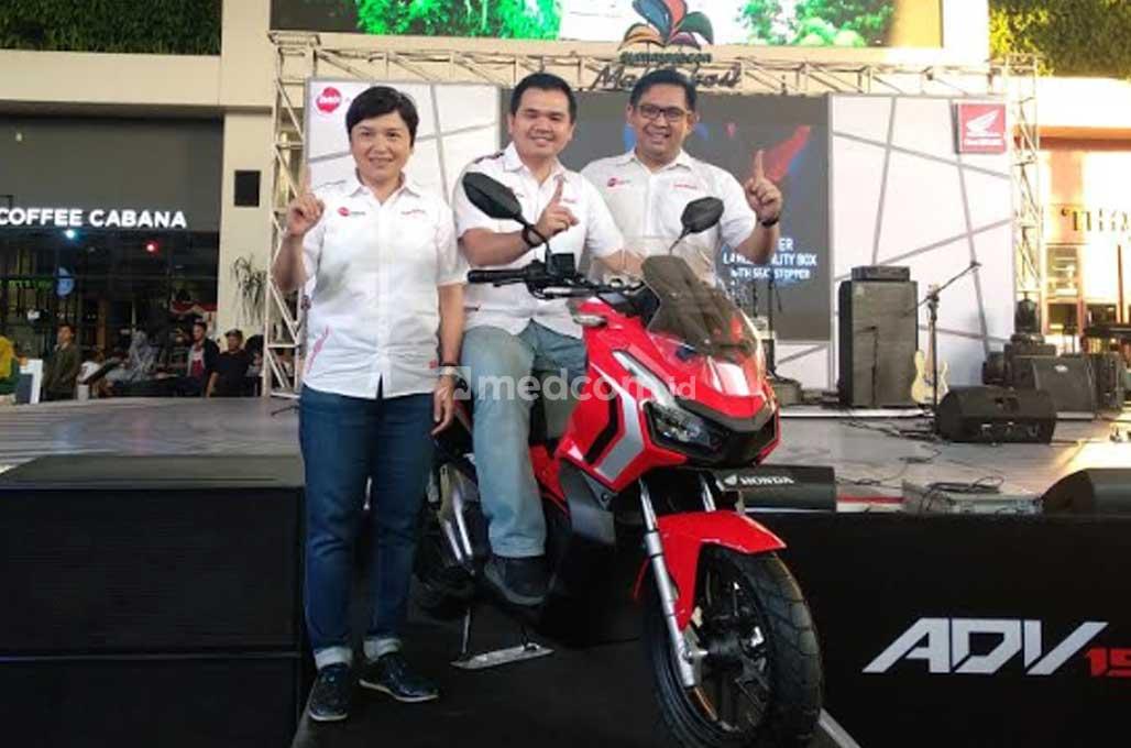 Ribuan Honda ADV150 Mengaspal di Bekasi