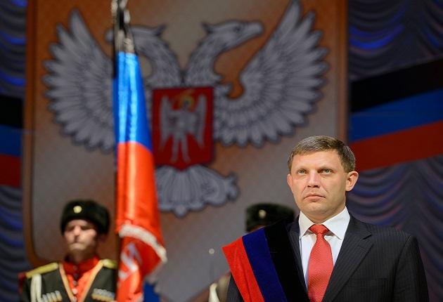 Puluhan Ribu Orang Hadiri Pemakaman Presiden Separatis Ukraina