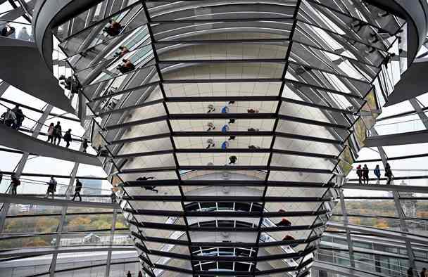 Reichstag, Gedung Parlemen yang Destinasi Wisata