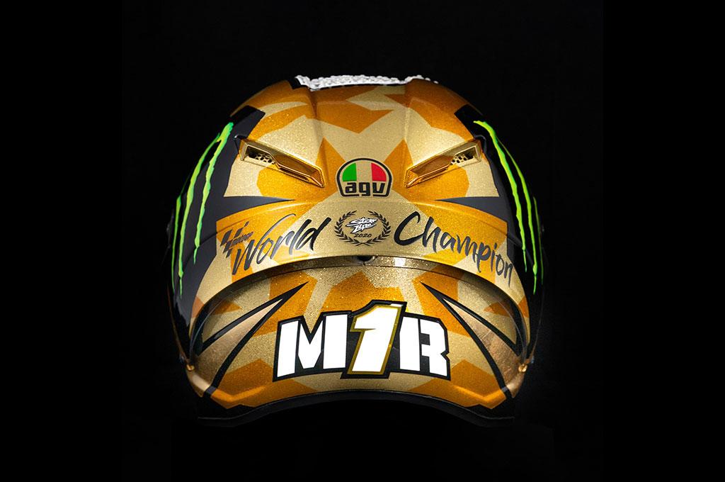Helm Sang Juara Joan Mir, Harganya Sampai Rp20 Jutaan
