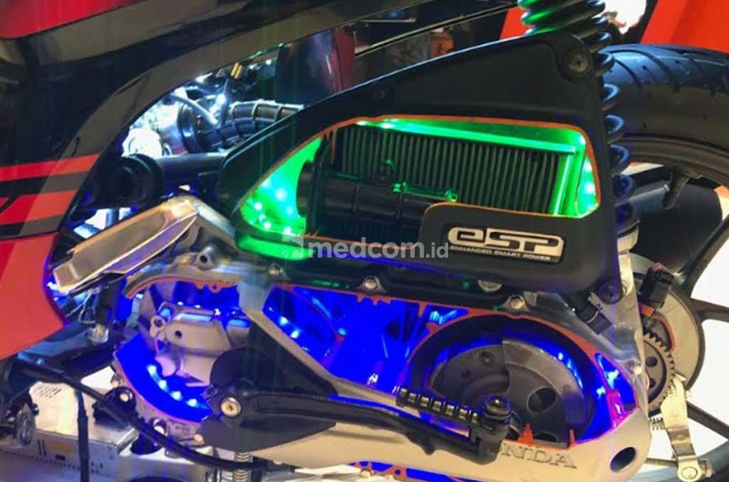 Honda Rilis Genio 110, 'Gragas' di Segmen Skutik Mesin Kecil