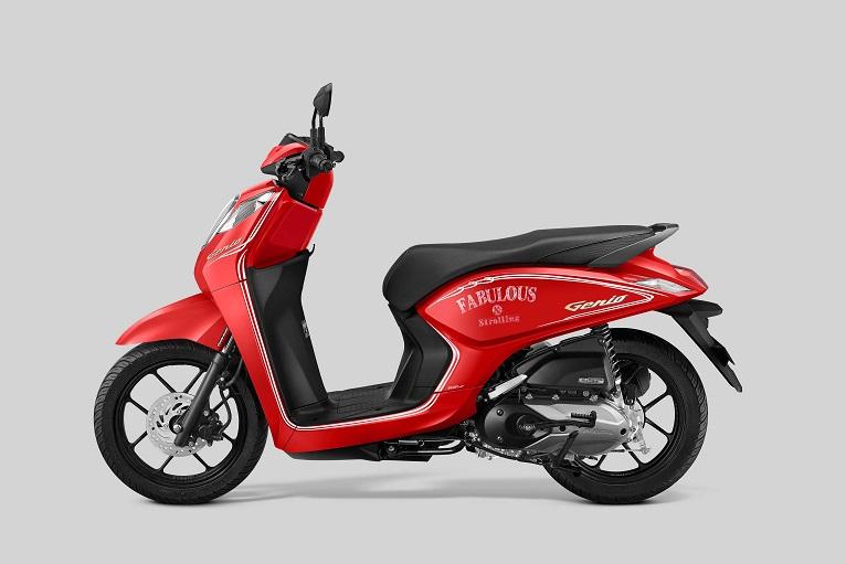 Penampilan Baru Honda Genio, Intip Perubahannya