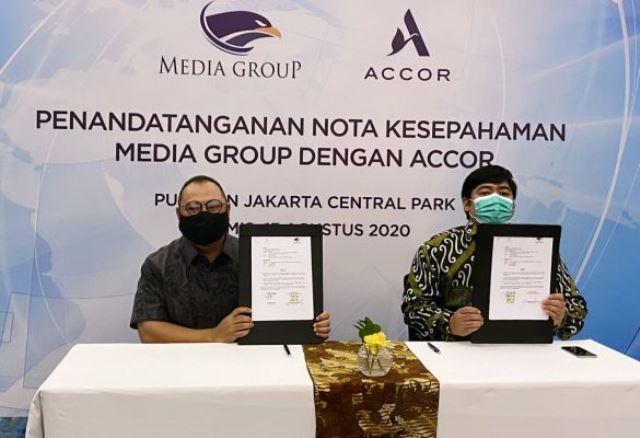 Media Group dan Accor Group Hotel Kerja Sama di Kenormalan Baru