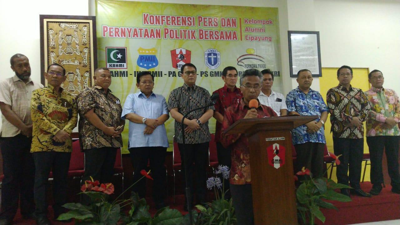 Alumni Kelompok Cipayung: Sengketa Pemilu Harus Diselesaikan Dalam Koridor Hukum