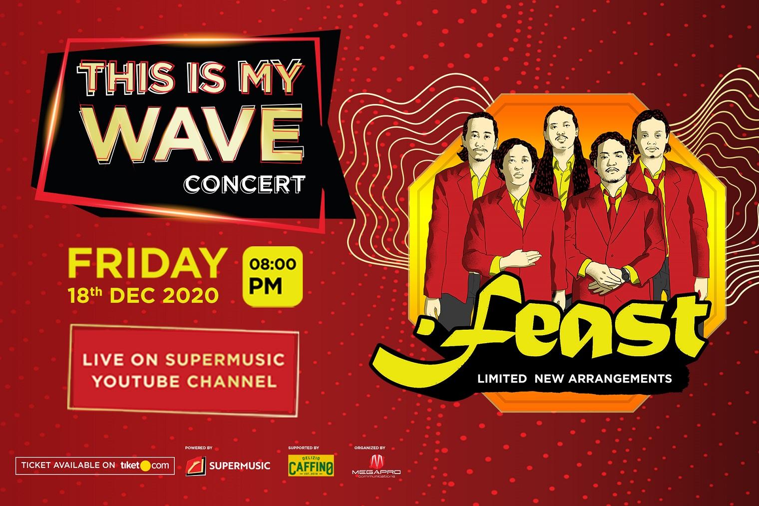 .Feast Siapkan Pesta di This Is My Wave Concert Episode ke-9