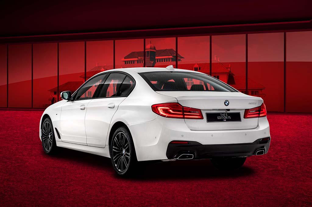 BMW Seri-5 Edisi Spesial Ikut Meriahkan HUT Ke-75 RI