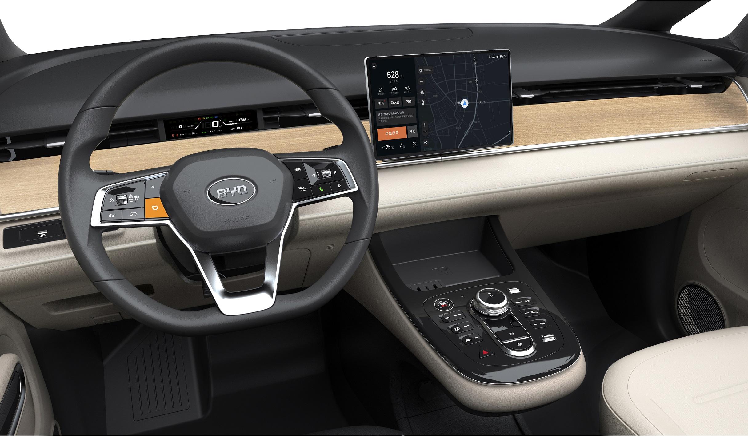Mobil Listrik Taksi dari BYD, Sudah Otonom Level 2