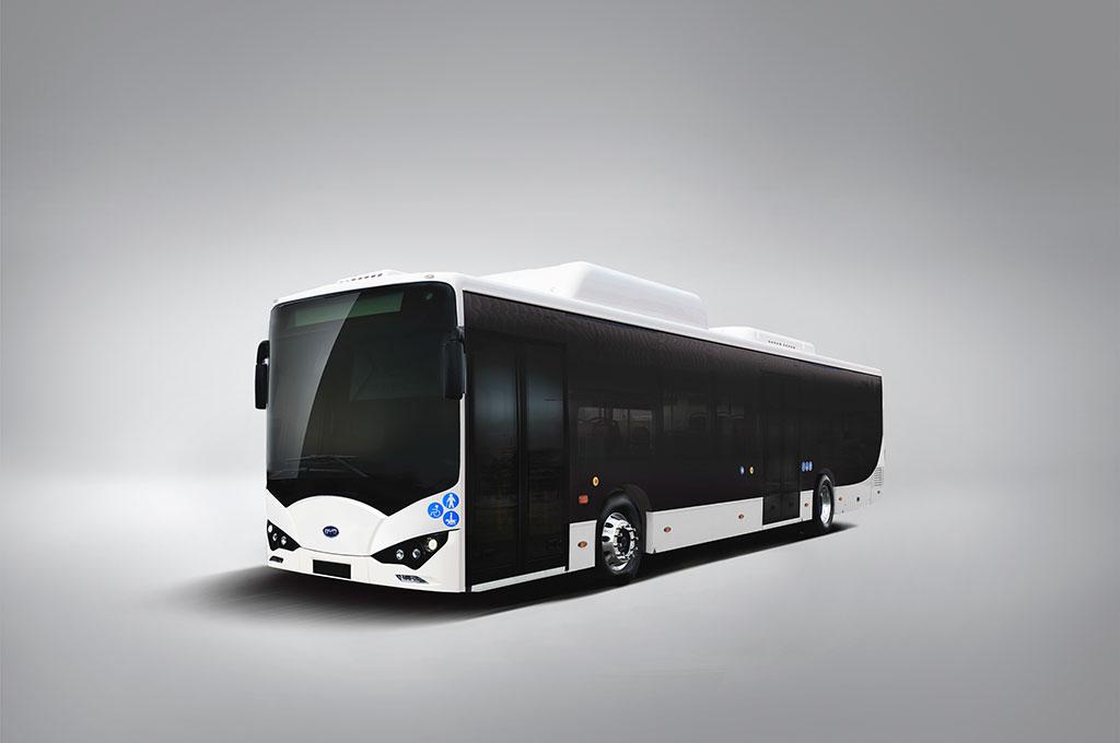 Bus Listrik BYD K9 Mayasari Bakti untuk Transjakarta