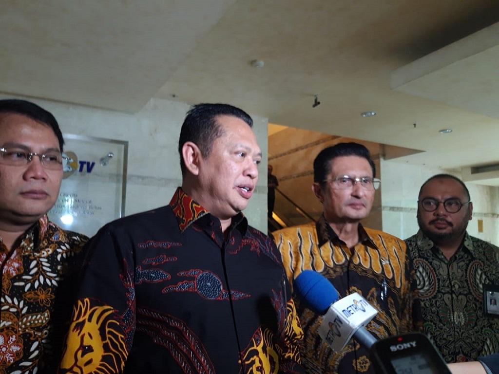 Pimpinan MPR Minta Masukan ke Media Group