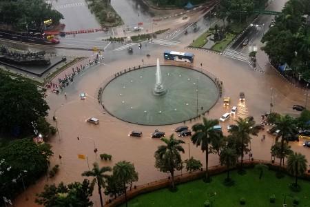 BMKG: Hujan Ekstrem Landa Jakarta