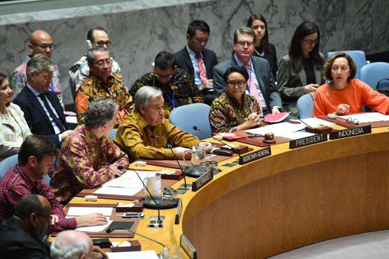 Indonesia Kembali Pimpin Debat Terbuka DK PBB