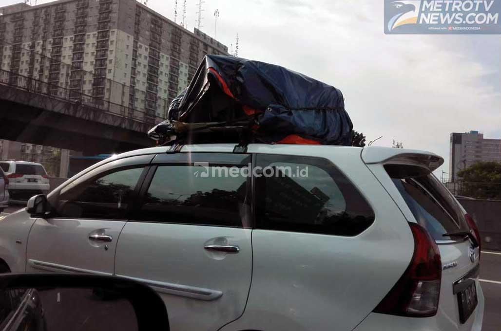Barang Bawaan Mudik di Atas Mobil? Perhatikan Hal Ini