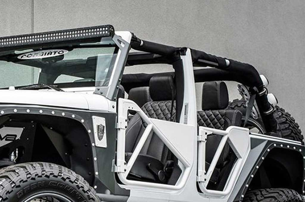Kerennya Jeep Wrangler 'Betty White' Garapan Brian Motorsport