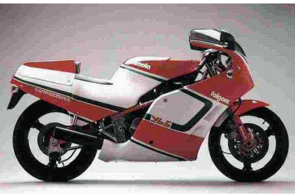 Intip Superbike Bimota YB5 Klasik