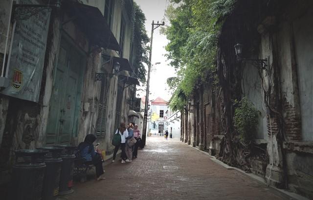 Jejak Tua Kota Lama Semarang