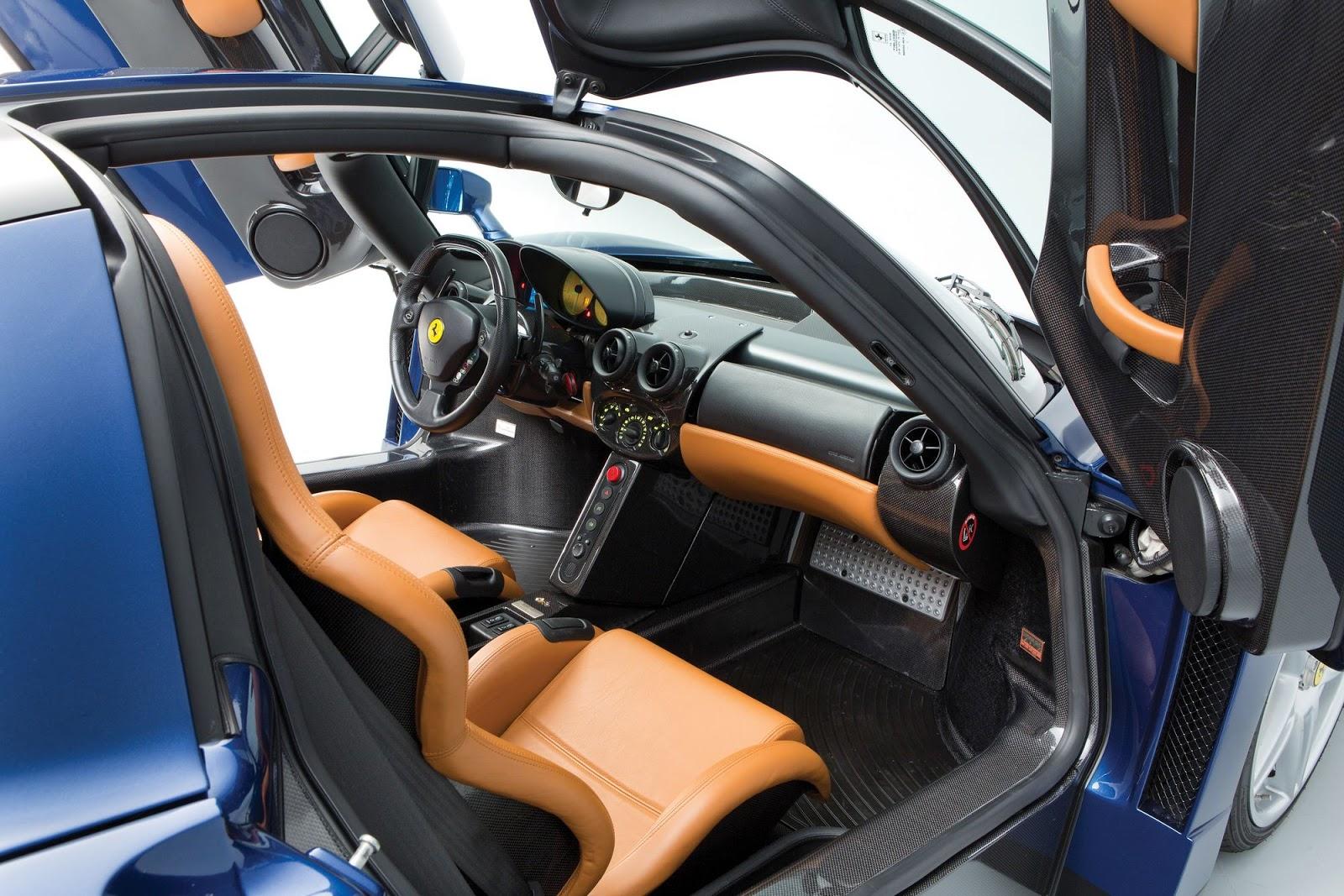 Intip Warna Unik Blu Tour de France Ferrari Enzo 2004