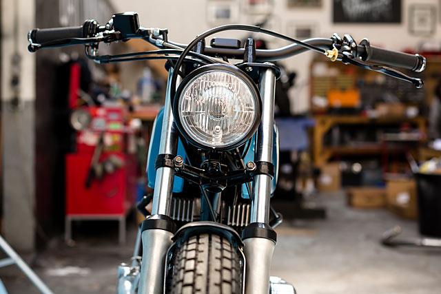 Honda CB400T Klasik 'Out of The Blue'
