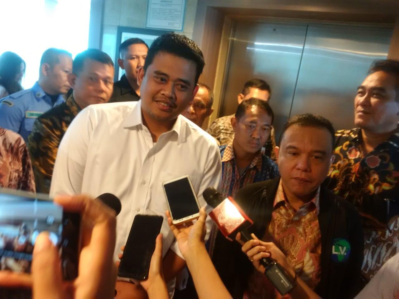 Menantu Jokowi Minta Dukungan Gerindra