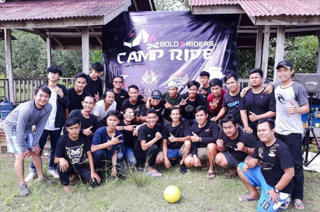 Keseruan Camp Ride ala Komunitas Bold Riders