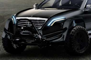 Mercedes S-Class Rugged Tampil Sangar ala Desainer Brabus