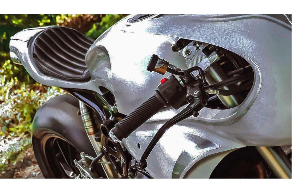 Kawasaki ER6n 'Bully' Garapan AMS Garage