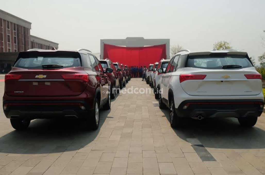 Ekspor ke Thailand, Wuling Motors Pakai Merek Chevrolet Captiva