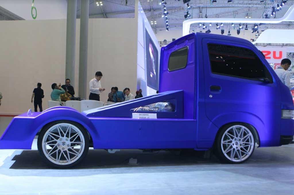 New Carry Fluzh Concept, 'Pede' Bergaya Low Rider