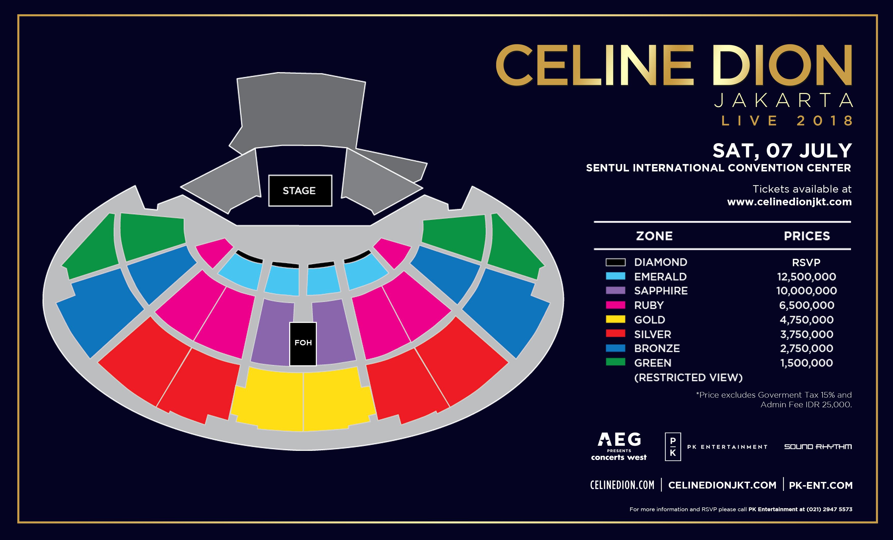Perbandingan Harga Tiket Konser Mariah Carey dan Celine Dion di Indonesia