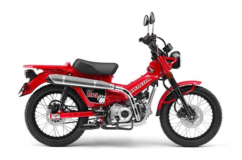 Intip Super Cub Zaman Now Honda New CT125 Concept