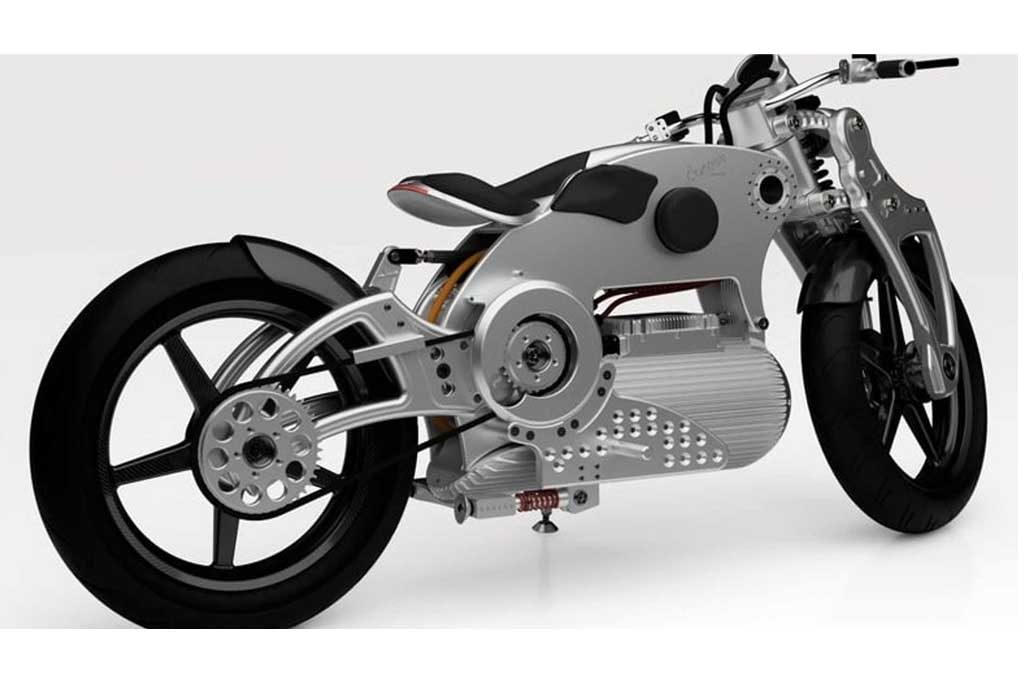 Motor Listrik Konsep nan Futuristik Garapan Curtiss Motorcycle