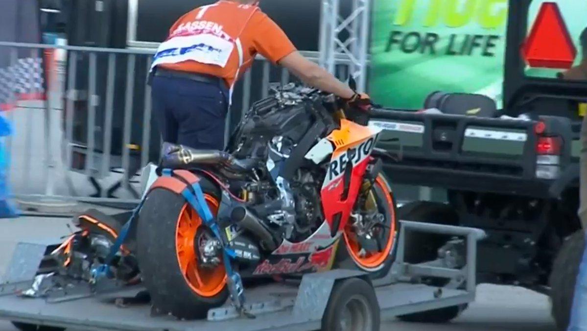 Kondisi Jorge Lorenzo setelah Kecelakaan di FP1 GP Belanda