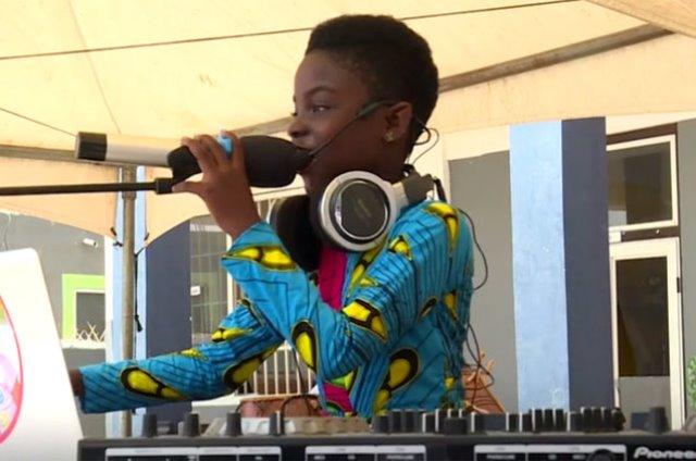 Bertemu Erica, Disjoki Cilik Asal Ghana