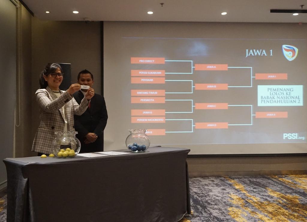 Hasil Undian Putaran Regional Liga 3 Indonesia 2018