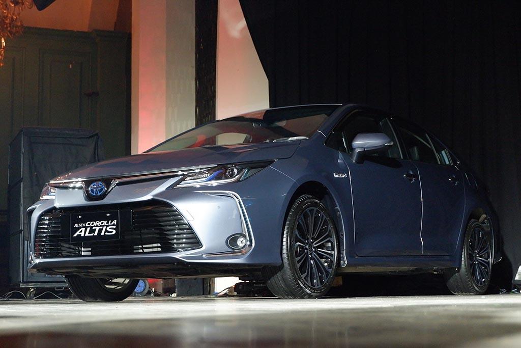 All New Corolla Dibekali Teknologi Hybrid